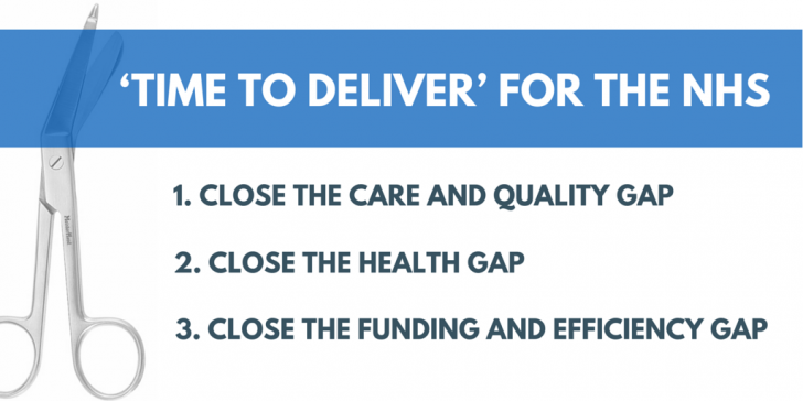 'Time to Deliver' for the NHS
